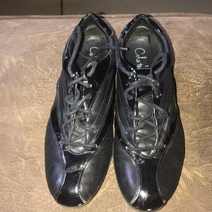 Coke Haan Athletic Shoes Black/Patent Leather 8AA